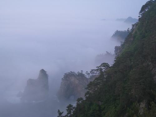 北山崎の朝